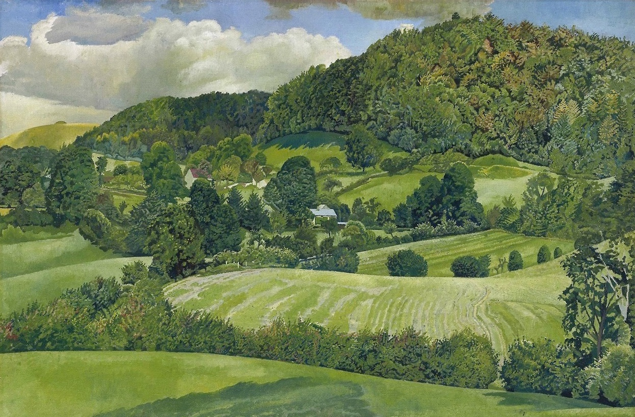Landscape Gloucestershire Stanley Spencer